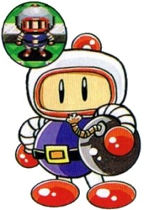 Sure, it's lazy, but a giant Bomberman? It could have worked.