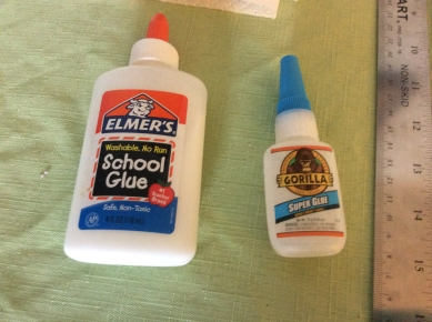 Glue: the kind of glue that can be... er, well, it's glue.